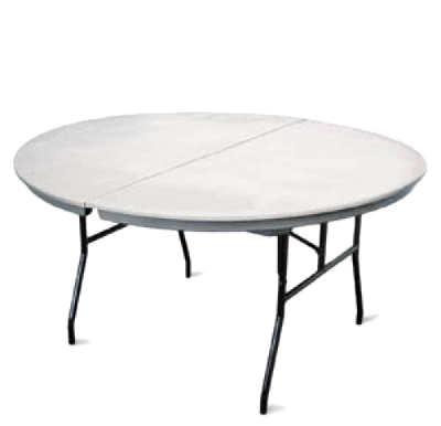 Round tables hoosier tent party rentals for 10 ft round table