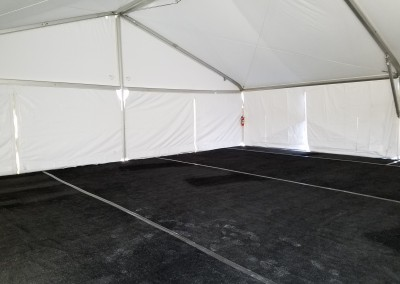 Interior of 40'x40' Clearspan