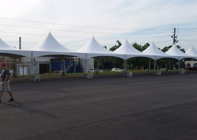 20'x140' Frame Tent