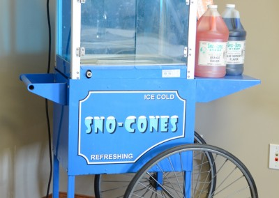 Sno Cone Machine & Cart