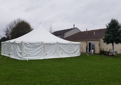 30'x30' Pole Tent